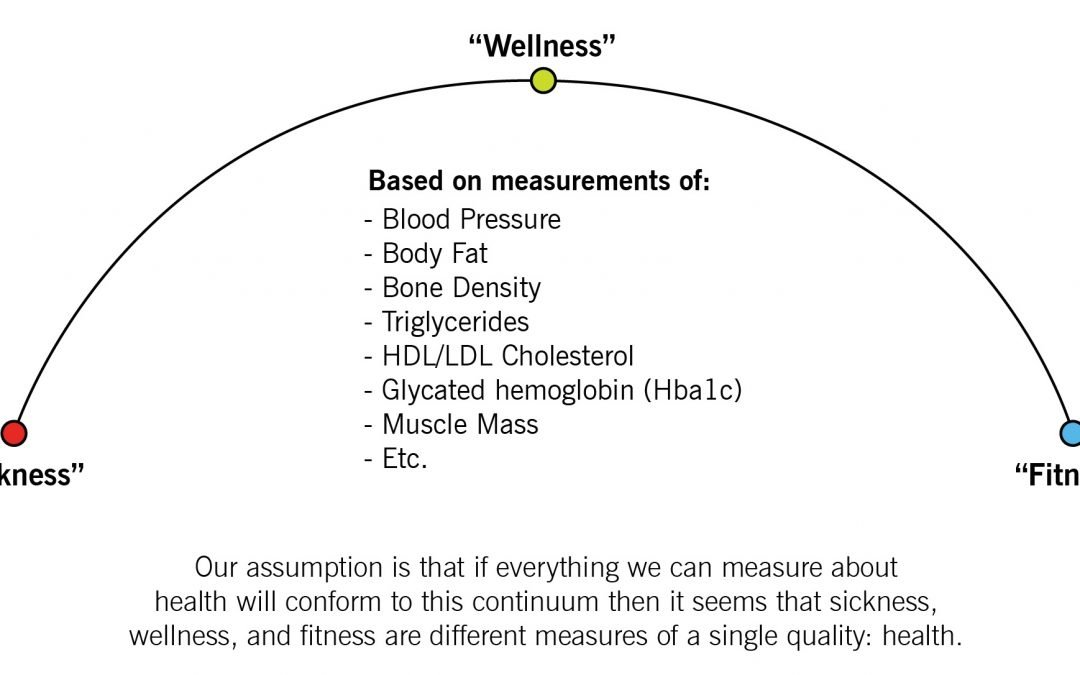 Sickness-Wellness-Fitness Continuum