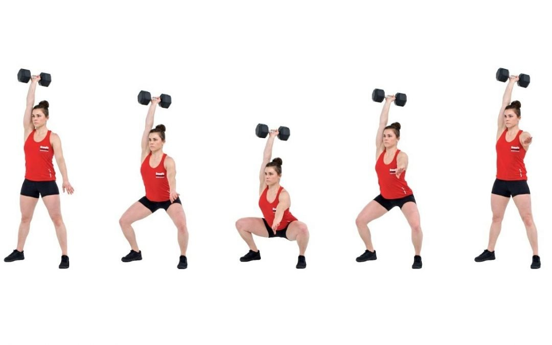 Single Arm Dumbbell Overhead Squat: The Ultimate Test of Functional Mobility & Stability