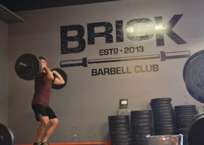 Brick Barbell Club